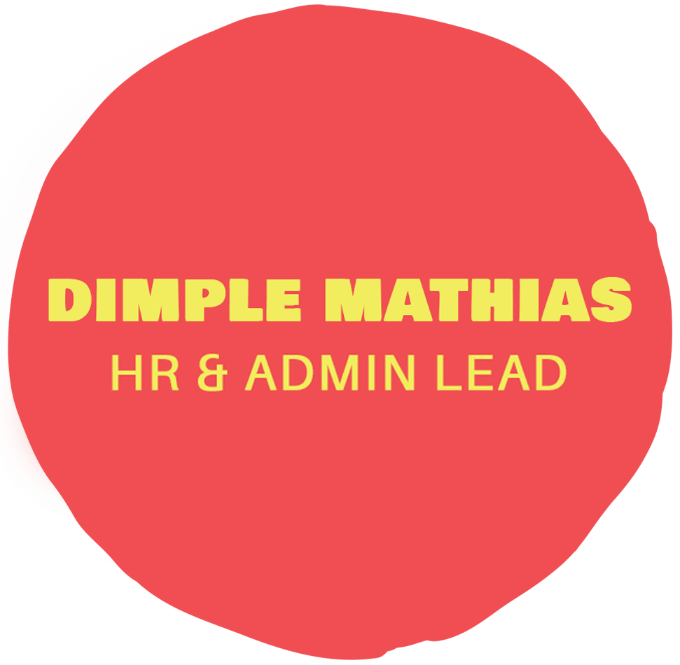 Dimple Mathias- HR & Admin lead