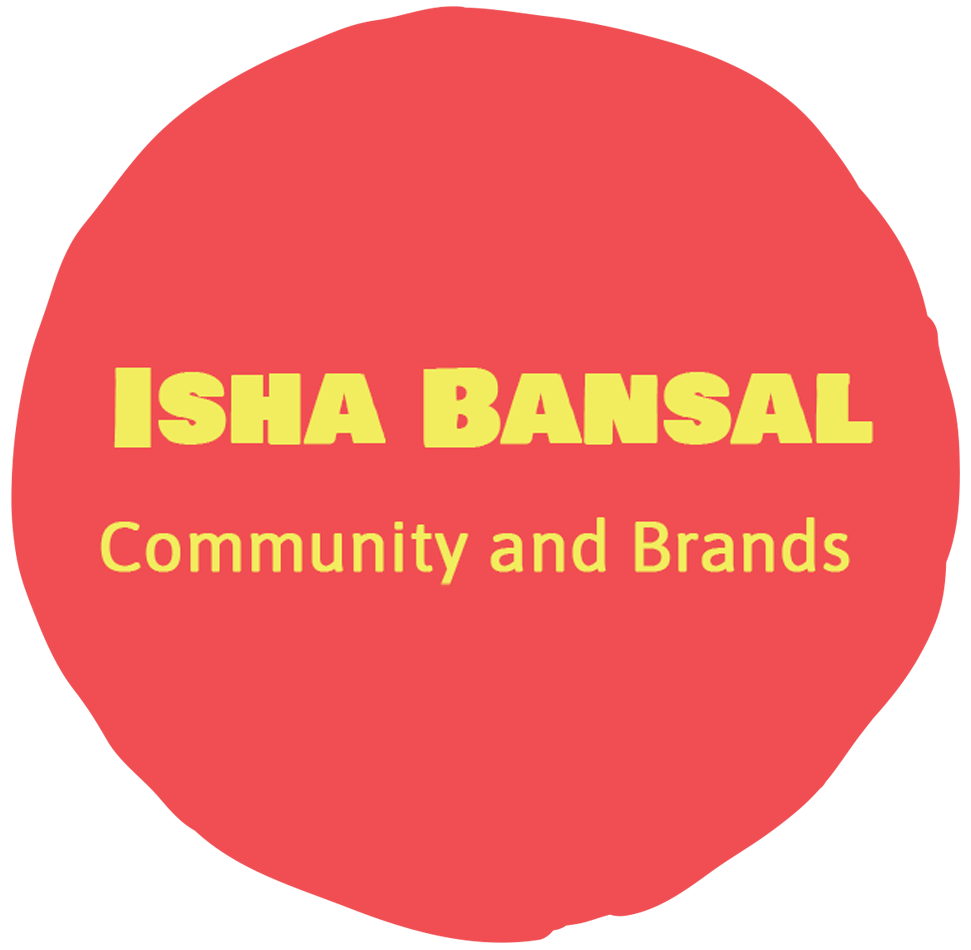 Isha Bansal - Community and Brands Associate