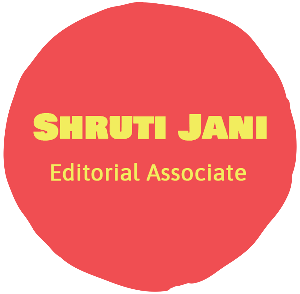 Shruti Jani-Editorial Associate